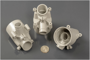 Complex injection molded parts for the military and defense markets.